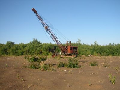 Northwest Model 104 Dragline w/ 1 Yard Bucket at Moore Creek